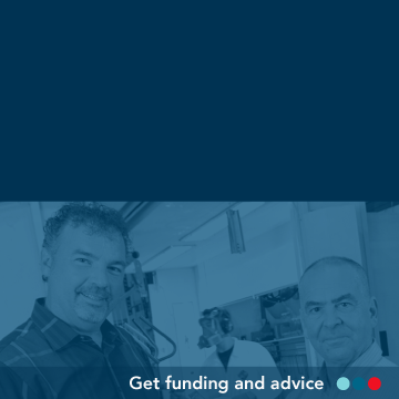 Get funding and advice