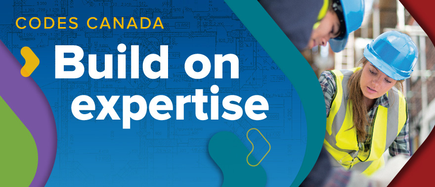 Logo for Codes Canada - Build on expertise