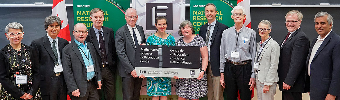 Inauguration du Centre de collaboration CNRC-Fields
